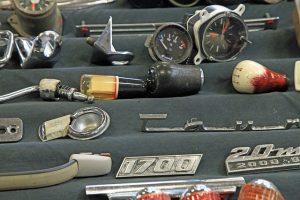 Parts and Accessories of Old Cars