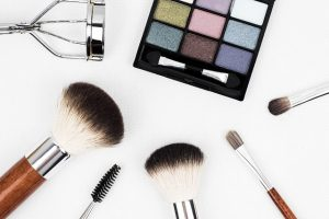 Makeup Case and Products